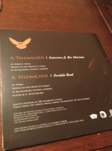 Telemachus ft. Roc Marciano - Scarecrows Back Cover