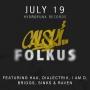CALSKI – 'JUST CLAP' 7″ + FOLKUSEP